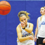 GHS junior playing big, fouling less