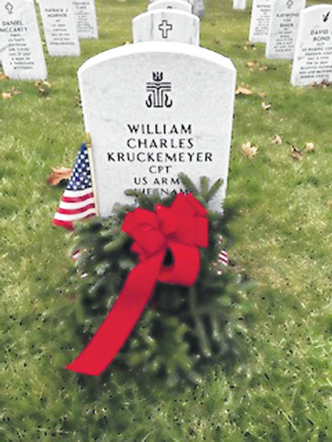 Wreaths Across America will be laying balsam wreaths at the VA Medical Center on Dec. 18 and 19.
