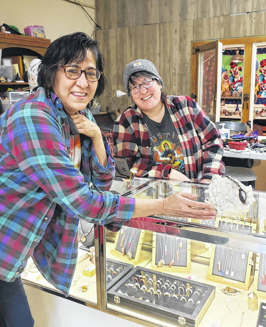 Frances Coyne and Crystal Gibson are the dynamic duo behind their namesake rock shop.