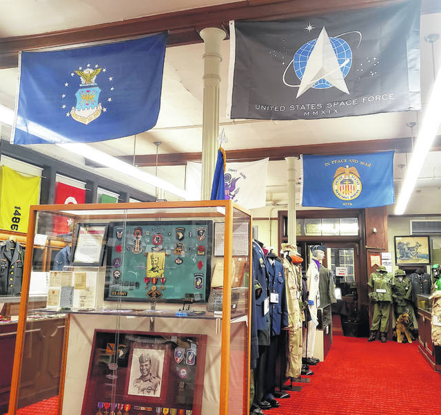 The Miami Valley Military History Museum, currently located on the Dayton Veterans Affairs campus, displays books and memorabilia of military history owned by people from the Miami Valley from World War II to the present day.