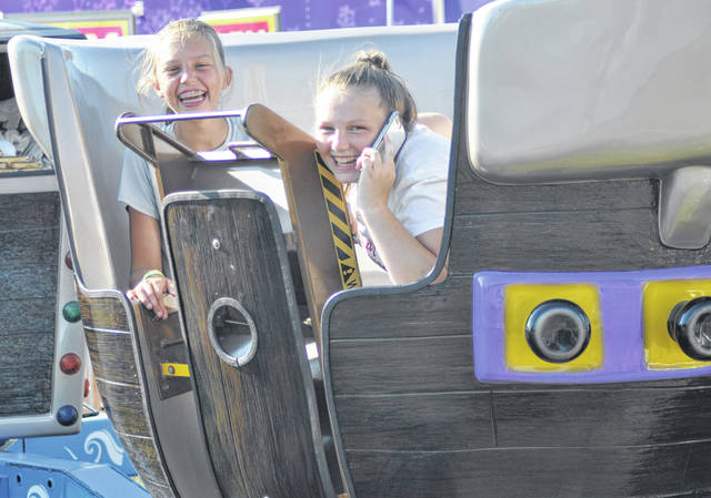 """File photo The 2021 Greene County Fair is a """"full-go"""" according to the fair board. It will reportedly include rides and games. Last year's fair was a junior fair only with no rides or games and limited food options."""