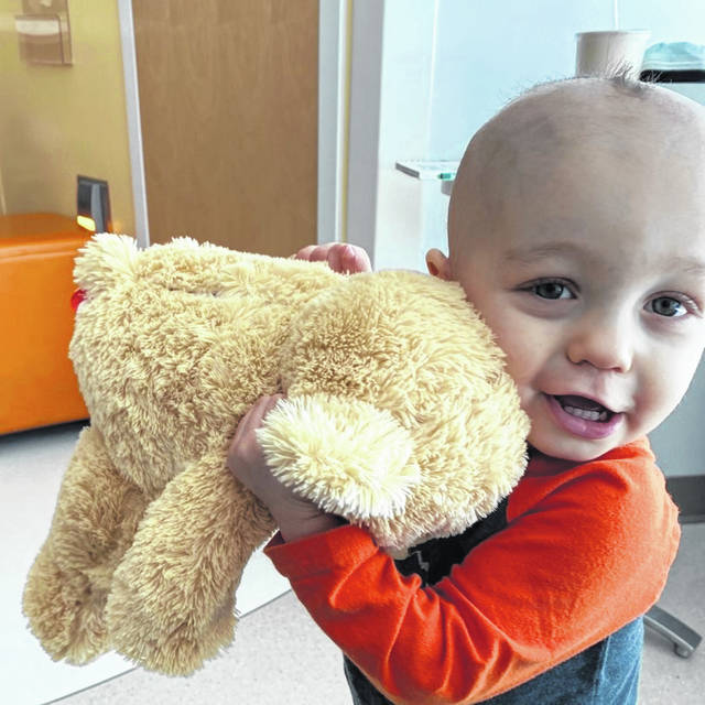 18-month-old Thomas Harris is battling pediatric brain cancer with the help of his mom and dad. The city of Fairborn will be holding a blood drive in his honor from 10 a.m. to 4 p.m. on April 21.