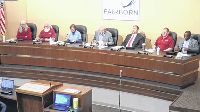 The Fairborn City Council met on May 17, the first since all members have been fully vaccinated.
