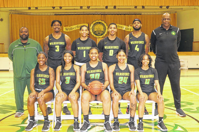 Submitted Photos Wilberforce University's athletes highlight the institution's honors lists.