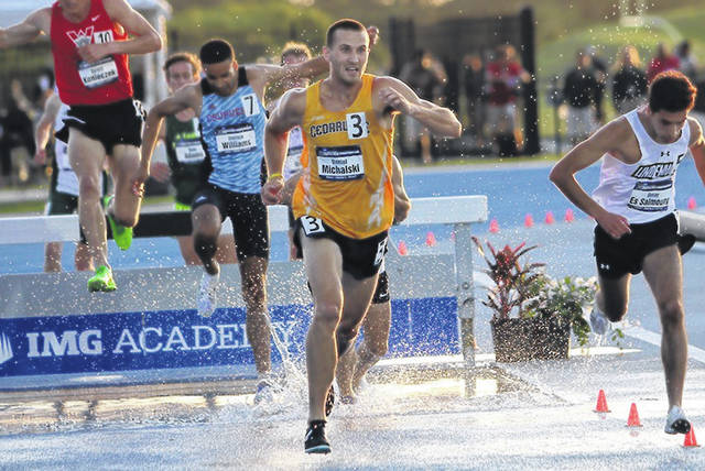 Submitted photo Xenia's Dan Michalski is heading to the U.S. Olympic track & field trials in Eugene, Ore. He competes in the steeplechase.