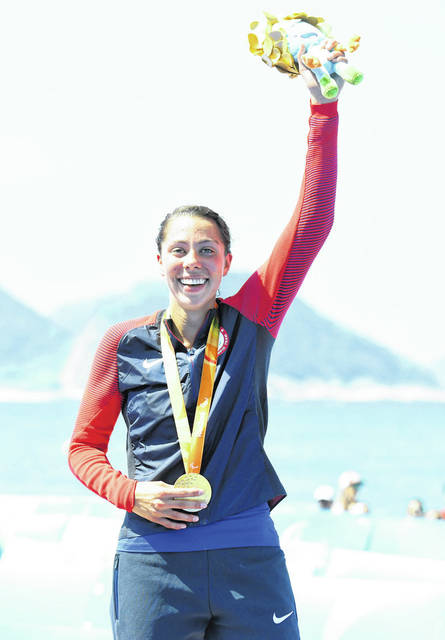 Grace Norman won the gold medal in the triathlon in the 2016 Rio Paralympics. It was the first time that event was held.
