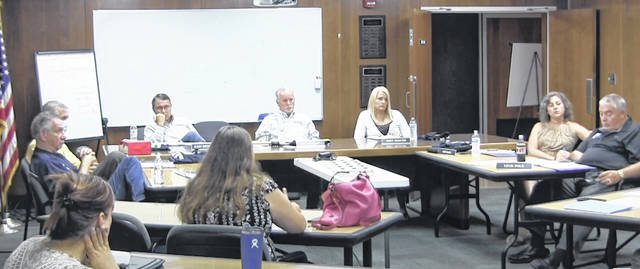 Screenshot At Thursday's board meeting, Fairborn City Schools board members heard that construction on Fairborn's new school buildings may be delayed due to supply issues.