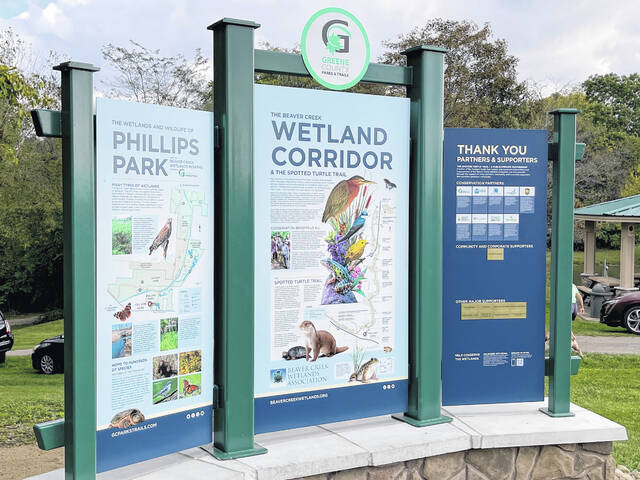 The Spotted Turtle Trail features new trailheads, observation decks and information stops which share information about the wetlands and the vital role they play.