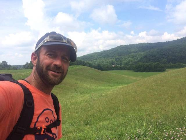 Provided photo Tom Helbig started the 1,400 mile Buckeye Trail around Ohio in March and finished last week. The loop around the state visits all four corners and showcases the beauty of Ohio, he said.