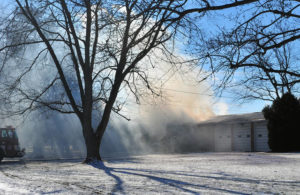 Christmas Day fire causes heavy damage