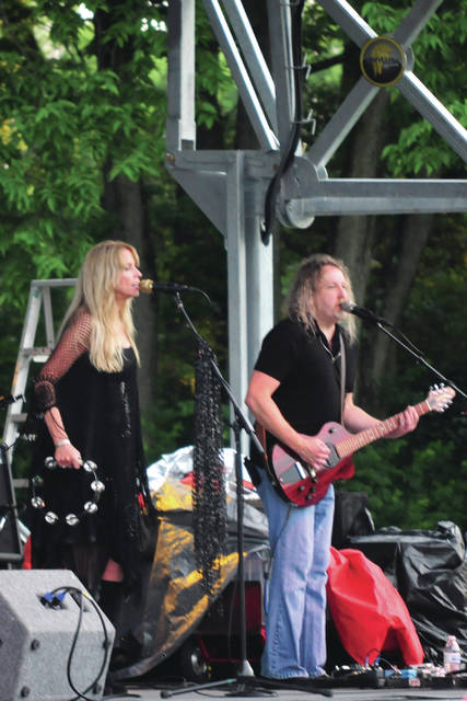 Cecilia Fox | Weekly Record Herald Members of Fleetwood Mac tribute band Tusk entertained crowds on Saturday, June 9, in Tipp City