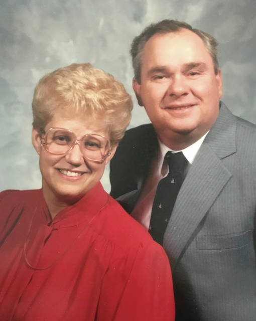 Provided photo Dee and Kelly Gillis, in this photo from 1988, will celebrate their anniversary with a gathering on Sept. 22.