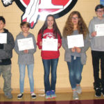 TMS Students of the Month announced