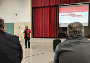 District, residents discuss future of school site