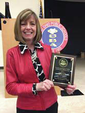 Provided photo Liz Robbins was named the 2019 Outstanding Community/Public Relations Person for 2019 by the Ohio School Boards Association Southwest Region.