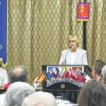 Business review system featured at Rotary
