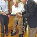 96-year-old veteran awarded diploma