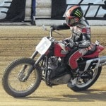 Baker dominates at Lima Half-Mile motorcycle race