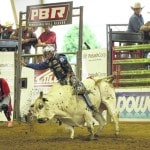 Bull riding continues today at fairgrounds