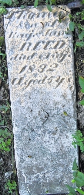The first burial in what became Shawnee Cemetery took place in July 1832, when the family of Benjamin and Jane Decoursey Reed laid 5-year-old Thomas Reed to rest.