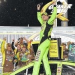 Kyle Busch wins Sprint Cup 400-mile race at Kentucky