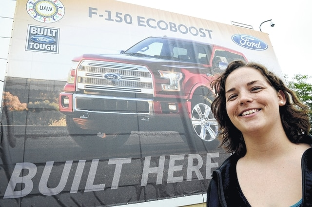"Katelyn Reno Shelley, 27, works at the Ford Motor Company's Lima Engine Plant as an engine assembly process engineer. She was selected to of SME's Advanced Manufacturing Media's ""30 Under 30"" Future Leaders of Manufacturing list."