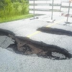 County looks for emergency funds for Grubb Road repair