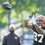 Terrelle Pryor trying to catch on as WR with Browns