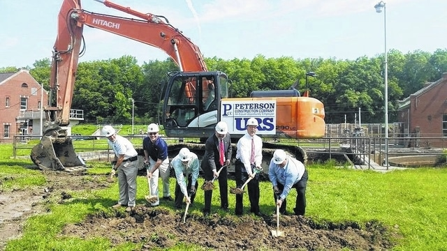 Lima breaks ground on wastewater treatment project - The Lima News