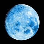 'Once in a blue moon' is Friday night