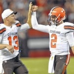 Browns still satisfied with keeping McCown as starter over Manziel