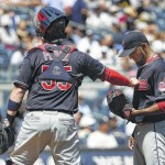 Salazar has slow start in Indians' loss