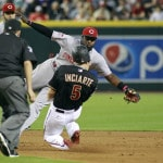 Sampson gets 1st big league win as Reds beat D-backs 4-1