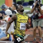 Bolt wins again with help from Americans