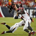 Browns rookie running back Duke Johnson out with concussion