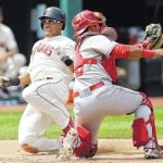 Almonte leads Indians to fifth straight victory