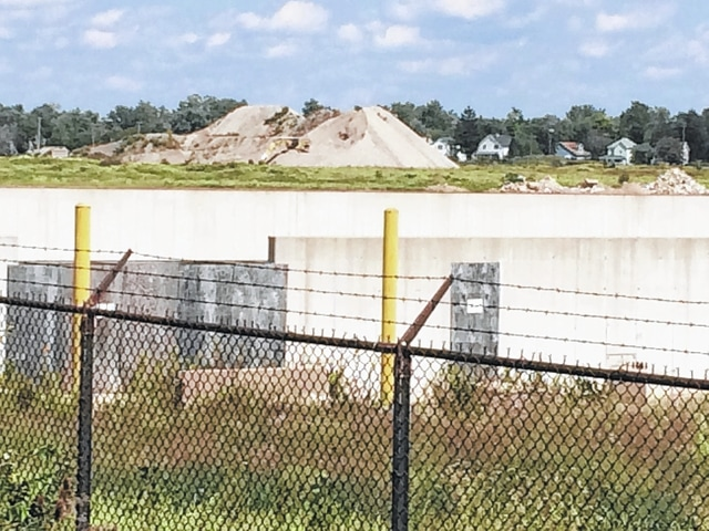 The building site for Lima Energy remains unfinished at the location of the former Lima Locomotive Works.