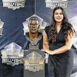 Sydney Seau pays tribute to Hall of Fame father