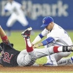 Indians lose to Jays in 10 innings