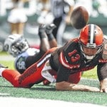 Quarterback McCown likely to start for Browns against Titans