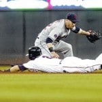 Indians' wild card quest suffers setback with loss to Twins in series opener