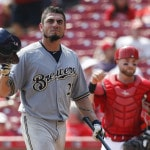 Brewers beat Reds
