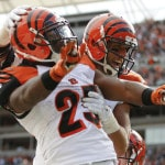 Bengals running game hasn't yet hit stride