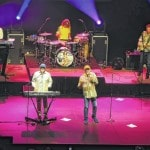 The Beach Boys take the stage at the Civic Center in Lima