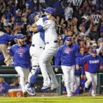 Cubs bash Cards to win Division Series