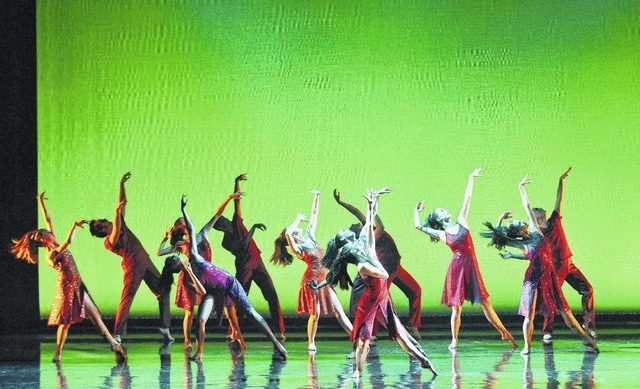 """Ballets with a Twist performed """"Holy Water."""""""