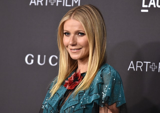 In this photo from November, Gwyneth Paltrow attends LACMA 2015 Art+Film Gala at LACMA in Los Angeles. Opening statements have begun in the trial of a man accused of stalking Paltrow. A prosecutor says Dante Soiu has stalked Paltrow for 17 years and sent her 66 letters between 2009 and 2015.