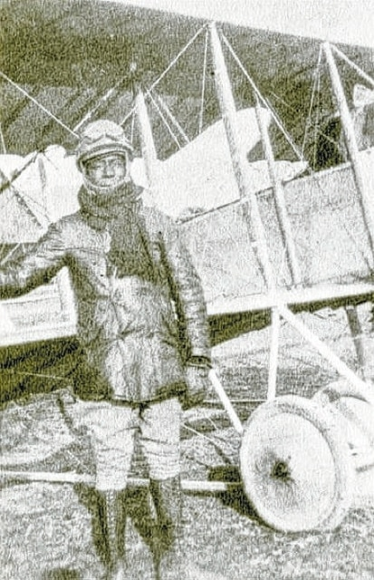 Eugene Bullard served in the French Air Service during World War I.