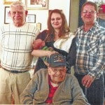 Five generations: Burnett