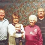 Five generations: Hicks family